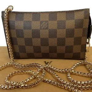 CERTIFIED AUTH. Louis Vuitton Damier Cross Body